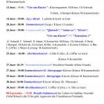 Jubiläumsaktionen 2 Seite Aktuelle Auftritte 2017 ohne