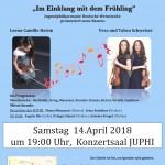 Violinabend mit Noten neu