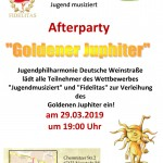 Party Goldener Juphiter 2019